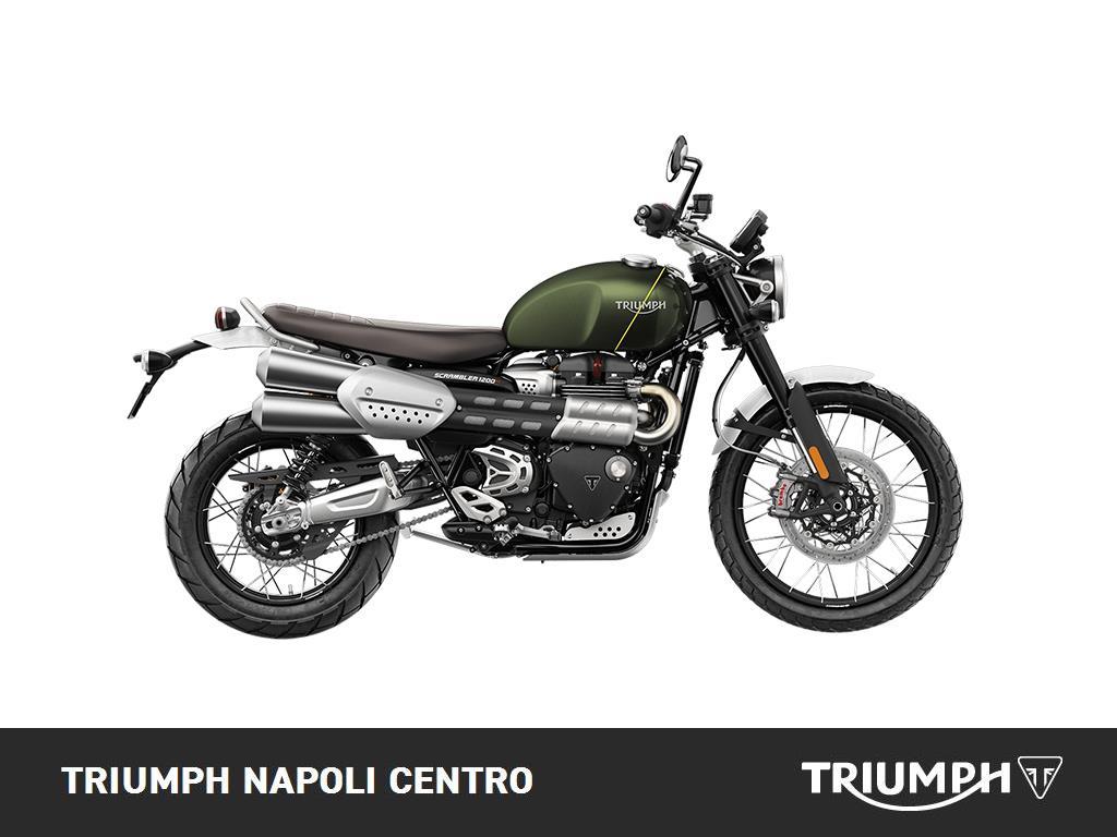 Vendo Triumph Scrambler 1200 XC (2019 - 20) nuova a Napoli